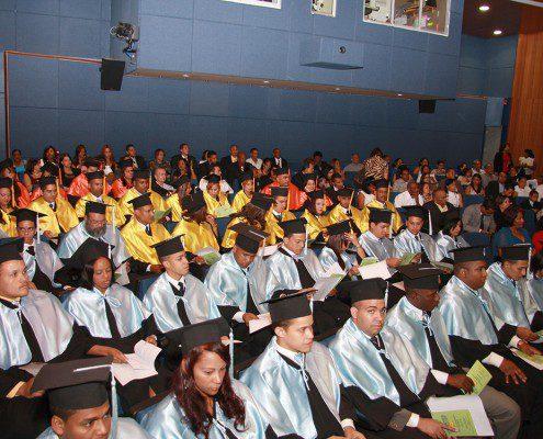 Vista de los graduandos